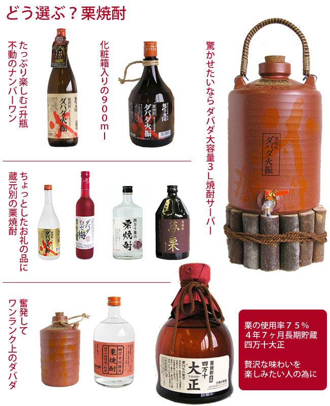 高知の栗焼酎